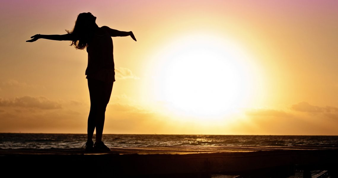 Canva - Silhouette Photo of Woman Against during Golden Hour